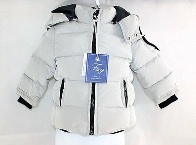 Fay 6 Months Baby Boy's Jacket Parka Duck Down Coat RRP €320 Designer in Italy