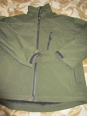 WEBTEX army Softshell JACKET security GREEN combat SECURITY army LARGE og VGC