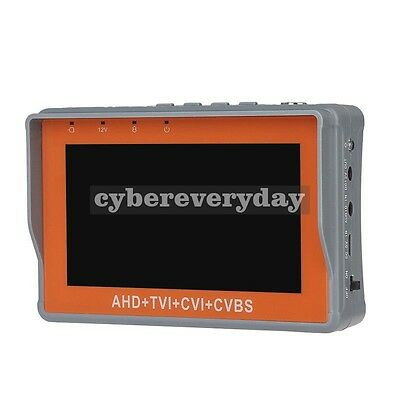 "Durable Wrist 4.3""1080P CVBS/AHD/TVI/CVI CCTV Camera Display Monitor Tester"
