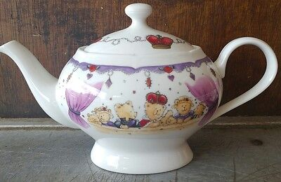 M&S Marks and Spencer Teddy Bear Parade Teapot Jubilee