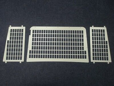 Van Guard Rear Window Security Grille Pair for Land Rover Defender (1983 on)