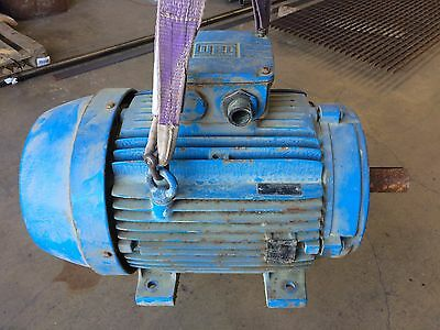 WEG 6.5KW Electric Motor, 3 Phase 400V 50Hz 18A - With case and fan