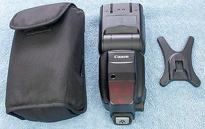 Canon Speedlite 600 EX-RT Shoe Mount Flash - VGC