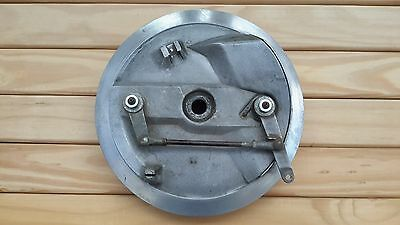 Complete 8 Inch Twin Leading Shoe Brake Plate with Shoes. Part No 37-1990 BSA