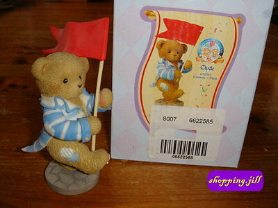 Cherished Teddies - Clyde, 15th Anniversary Club Member Exclusive, CT0091.