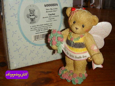 """Cherished Teddies - Taylor """"Be My Little Bumble Bee"""" with hearts 2004, 4000804"""