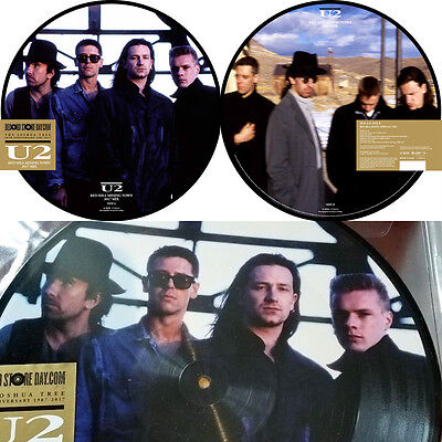 U2 Red Hill Mining Town RSD 2017 Limited Edition Picture Disc / Record Store Day