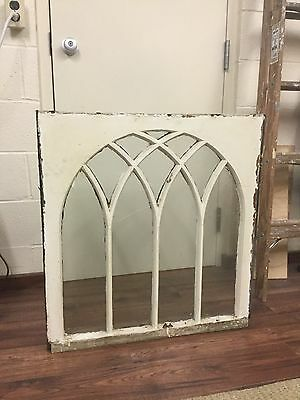Antique Window Arch Top Victorian Gothic Italianate Shabby Old Chic Repurpose