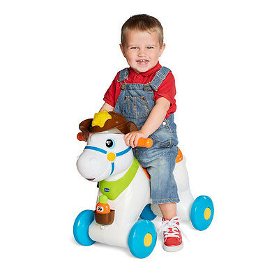 Chicco 3-in-1 Rodeo Horse, Infant Baby Interactive Activity Toy