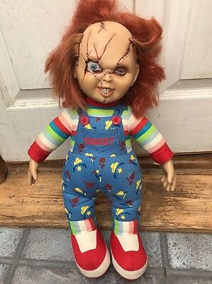 "Chucky  Child's Play Doll Soft Body  18"" Tall !!"