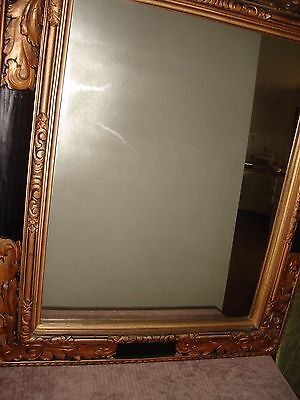 Mirror Antique - Black and Gold