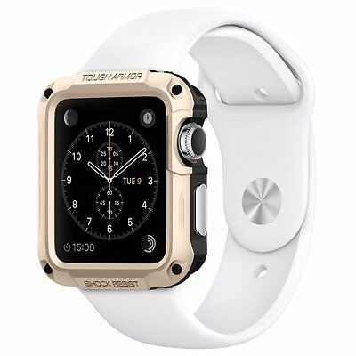 SALE Spigen Tought Armor for Apple Watch 2 (42mm) Champagne Gold