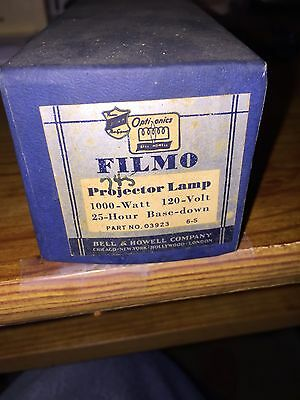 16 mm projector lamp 1000 Watt, Bell and Howell Company