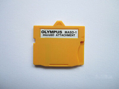 Olympus MicroSD TF Card to xD-Picture Card Adapter,MicroSD Attachment,MASD-01