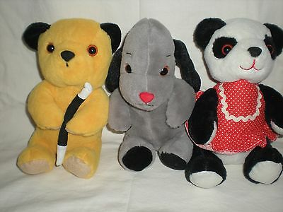 Sooty,sweep And Soo Soft Toys