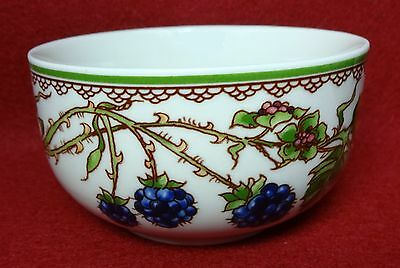 GOEBEL china BROMBEERE pattern Fruit Dessert Sauce or Berry Bowl - 3-5/8""