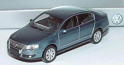 1:87 VW Passat (Typ B6) 2005 chrystalblue blau blue - Volkswagen Dealer-Edition