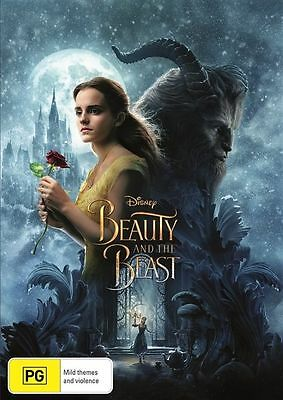 Beauty And The Beast (DVD, 2017) Brand New Sealed Region 4