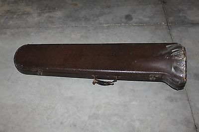 Vintage King Trombone with Case and Mouthpiece H N White 1900's
