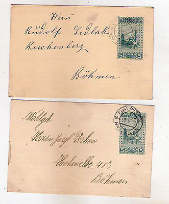 2 pcs K.u.K. MILITARY POSTCARDS FROM BOSNIA-HERZEGOVINA,AUSTRO-HUNGARY MONARCHY