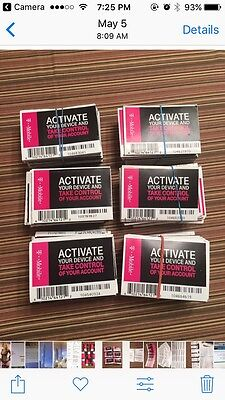 2017 New Version  20 X T-Mobile Starter Activation Code NO SIM (Lot of 20)