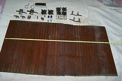 ORIGINAL HOOSIER HARDWARE,Tambor door, hinges & other parts