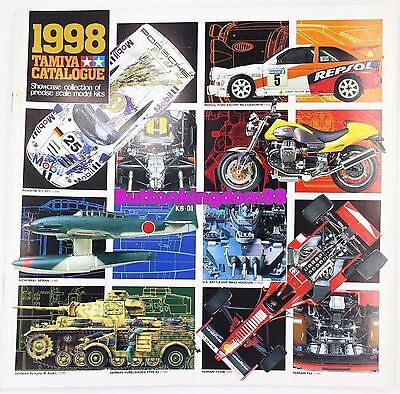 Tamiya 1998 Catalog Radio Control Vintage Guide Book English R/C Catalogue