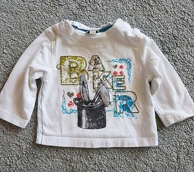 Baby Boys Ted Baker Top 0-3 months BAKER BABY