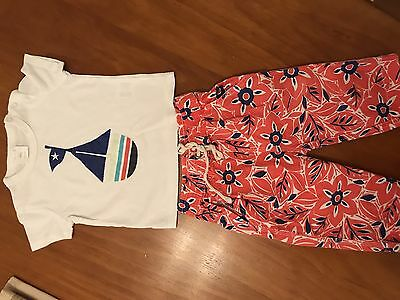 SEED BABY UNISEX TSHIRT PANTS OUTFIT BUNDLE Value Size 6-12 Months