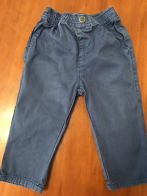 COUNTRY ROAD BABY BOYS LONg  PANTS BLUE 12-18 Months Value
