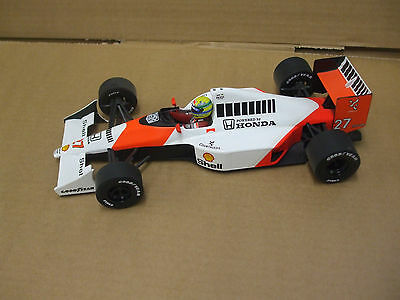 Ayrton Senna McLaren MP4/5B #27 World Champion Honda V10 1990 1:18 Diecast
