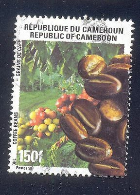 Cameroon 150F Used Stamp 28921 Coffee Beans