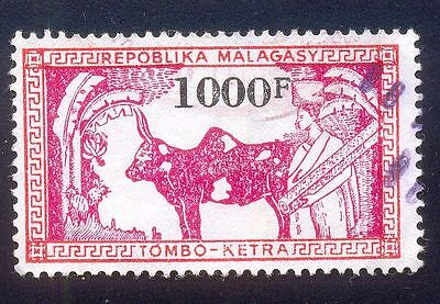 Malagasy 1000F Used Stamp 28904 Ketra Tombo Animal