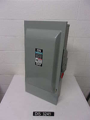 NEW OTHER Siemens 250 Volt 200 Amp Fused Disconnect Safety Switch (DIS3249)