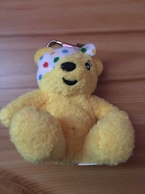 Children In Need Small Pudsey Keyring Bear