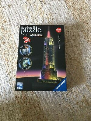 Ravensburger 3D Puzzle Empire State Building - Night Edition