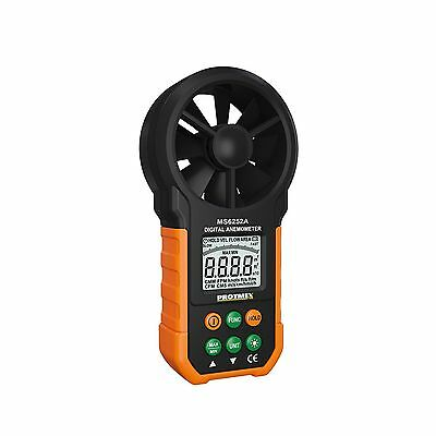 Protmex MS6252A Portable Digital Anemometer Handheld LCD Electronic Wind Spee...