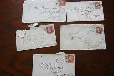 Victoria postal covers