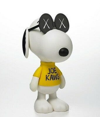 Rare New KAWS Version SNOOPY OriginalFake PEANUTS JOE From Japan Medicom Toy