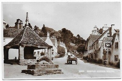 Vintage Postcard.  R.P.  Castle Combe, Wilts.  Unused.   Ref:76313