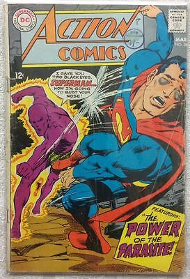 Action comics #361 (1st series ) 1968 GD+ condition. 48 year old classic.