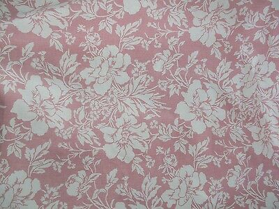 Vintage Jane Churchill Beautiful Pink Floral Interior Cotton Fabric