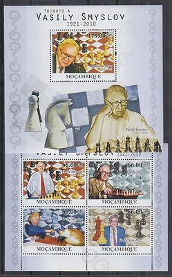 M94. Mozambique - MNH - Sport - Chess - Famous People