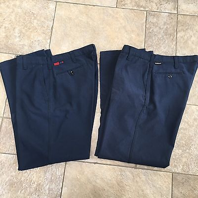 2 WORKRITE Nomex IIIA Aramid Fire Resistant Station Work Pants Mens Size 36 x 31