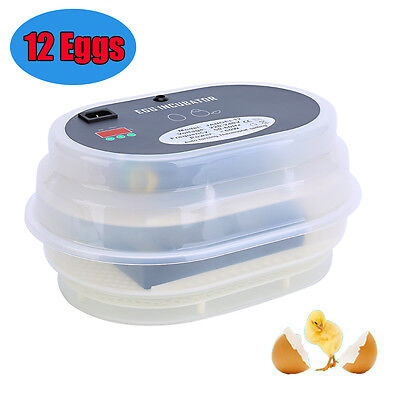 Mini 9 Digital Automatic  Chicken Goose Duck Poultry Egg Thermosta Incubator UK