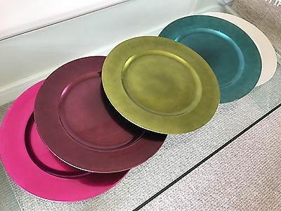 5 Charger Plates
