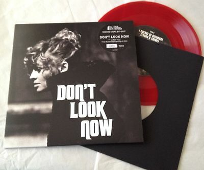 """DON'T LOOK NOW 7"""" Numbered RED Vinyl Single RSD 2017 Record Store Day Film/Movie"""