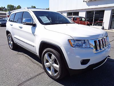 2013 Jeep Grand Cherokee Overland 5.7L 4WD V8 2013 Jeep Grand Cherokee Overland Navigation 5.7L V8 4x4 Sunroof Heated Leather