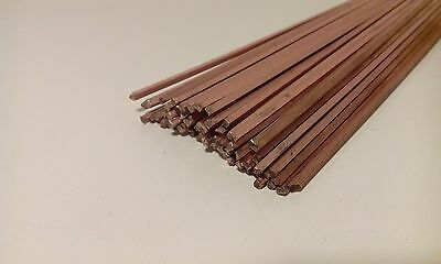 40x 5% Ag Silver Solder Brazing welding Rods Ag5CuP  2x500mm