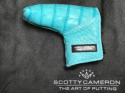 Scotty Cameron Putter Head Cover Scotty Blue Tiffany Gator